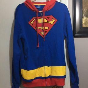 DC Comics Superman Large Zip Up Hoodie